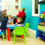 Children's area in waiting room